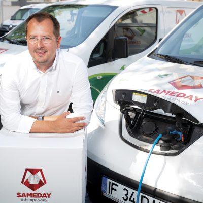 După ce s-a extins anul trecut în Ungaria, compania de curierat Sameday se uită și către alte piețe din zona Balcanilor